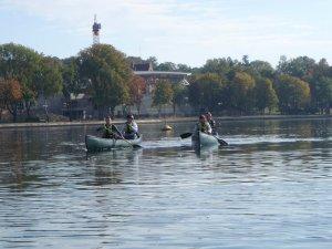 Spływy kanu-nowa usługa oparta o wykorzystanie lokalnych zasobów przyrodniczych