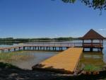 Budowa pomostu rekreacyjnego – widokowego na jeziorze Isąg