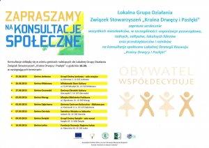 Zmiana miejsca konsultacji społecznych w Gminie Ostróda