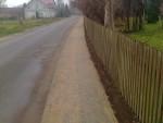 Modernizacja chodnika w miejscowości Molza