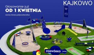 """GŁOSUJMY na """"PODWÓRKO NIVEA"""" w Gminie Ostróda"""